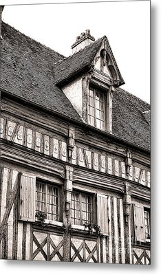 Medieval House Metal Print by Olivier Le Queinec