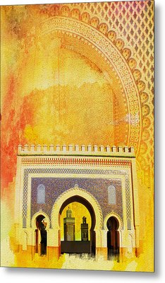 Medina Of Faz Metal Print by Catf