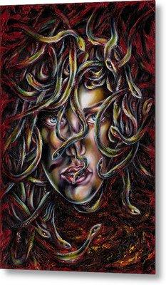 Medusa No. Three Metal Print by Hiroko Sakai