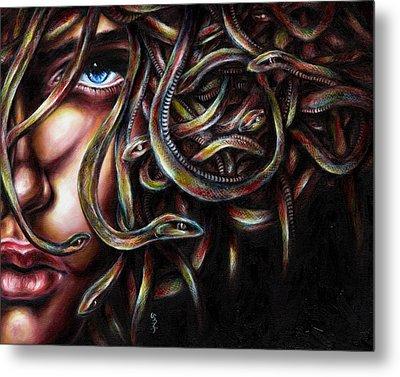 Medusa No. Two Metal Print by Hiroko Sakai