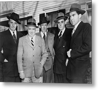 Members Of The House Un-american Metal Print by Everett