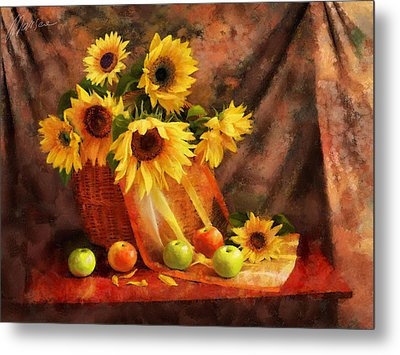 Memories Of Summer Metal Print by Marina Likholat