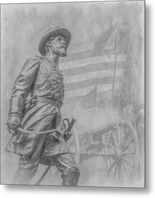 Memories Of The Gettysburg Battle Metal Print by Randy Steele