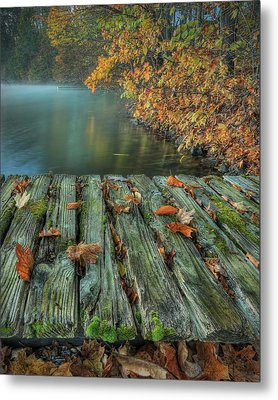 Memories Of The Lake Metal Print by Jaki Miller