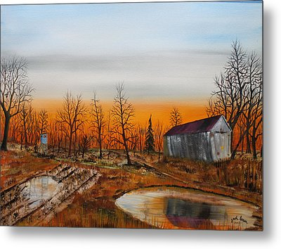 Memory Reflections Metal Print by Jack G  Brauer