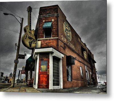 Memphis - Sun Studio 002 Metal Print by Lance Vaughn