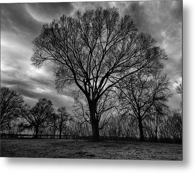 Memphis Winter On The Mississipi 001 Metal Print by Lance Vaughn