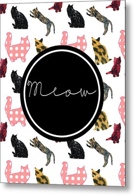 Meow Metal Print by Pati Photography