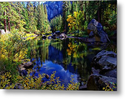 Merced River Yosemite National Park Metal Print by Scott McGuire