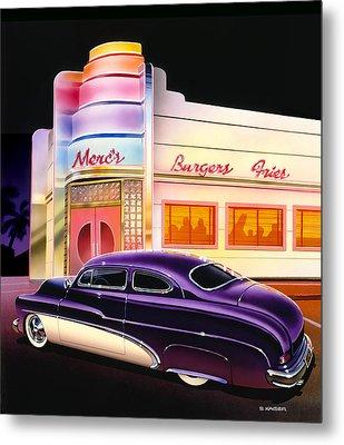 Mercs Burgers Metal Print by Bruce Kaiser