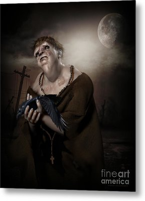 Mercy Metal Print by Shanina Conway