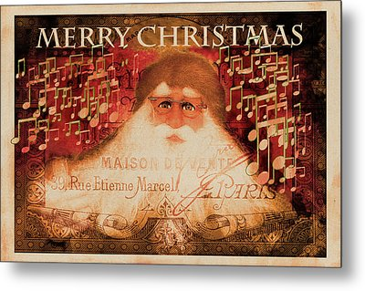 Merry Christmas Friends Metal Print by Jeff Burgess