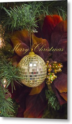 Merry Christmas Metal Print by Molly Heng