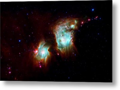 Messier 78 Star Formation Metal Print by The  Vault - Jennifer Rondinelli Reilly