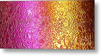 Metal Abstract Metal Print by Tony Cordoza