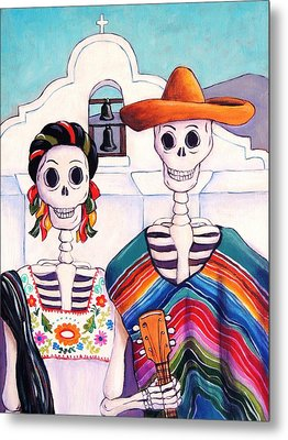 Mexican Gothic Metal Print by Candy Mayer