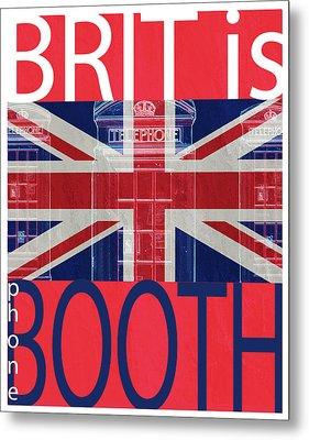 Mgl - Travel Brit Is 01 Metal Print by Joost Hogervorst