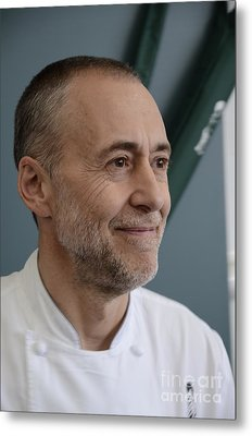 Michel Roux Jr. Metal Print by CandyAppleRed Images