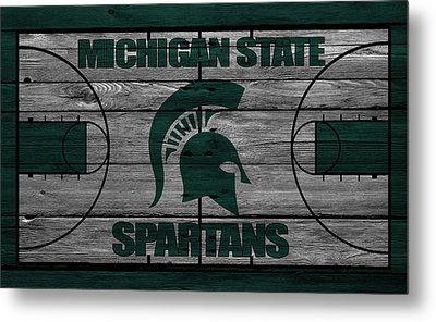 Michigan State Spartans Metal Print by Joe Hamilton
