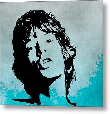 Mick Jagger Poster Metal Print by Dan Sproul