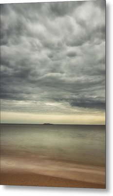 mid day at Sand Beach Metal Print by Chad Tracy