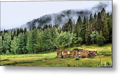 Midday Mist Metal Print by Lena Sandoval-Stockley