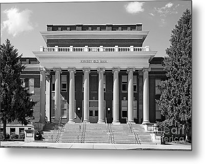 Middle Tennessee State Kirksey Old Main Metal Print by University Icons