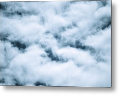 Midnight Clouds  Metal Print by Sheldon Blackwell