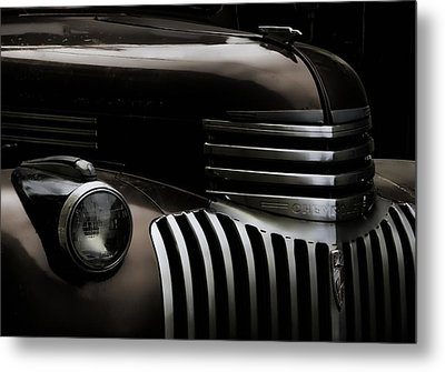 Midnight Grille Metal Print by Ken Smith
