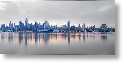 Midtown Morning Metal Print by Bill Cannon
