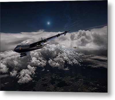 Mig Killer Diamond Lil Metal Print by Peter Chilelli