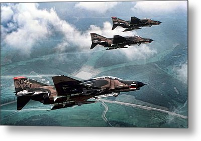 Mig Killers Metal Print by Peter Chilelli