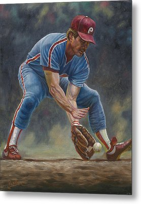 Mike Schmidt Metal Print by Gregory Perillo