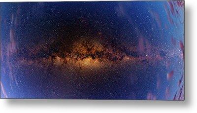 Milky Way At Dawn Metal Print by Babak Tafreshi
