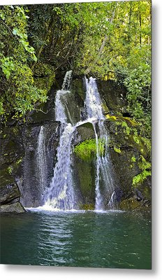 Mill Creek Falls Metal Print by Susan Leggett