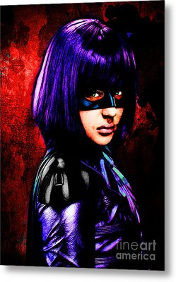 Mindy Macready Metal Print by The DigArtisT
