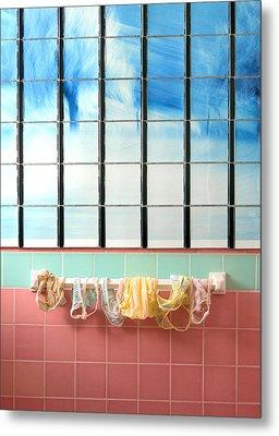 Mini Laundry Metal Print by Daniel Furon