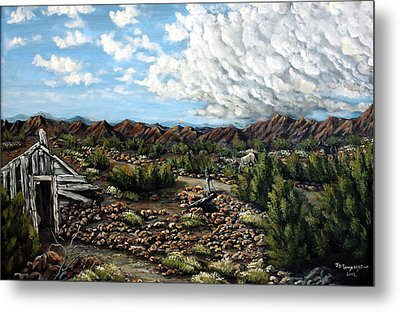 Mining Nevada Metal Print by Julie Townsend
