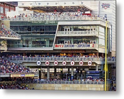 Minnesota's Bert's Countdown  To Cooperstown Metal Print by Susan Stone