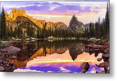 Mirror Lake Yosemite National Park Metal Print by Bob and Nadine Johnston