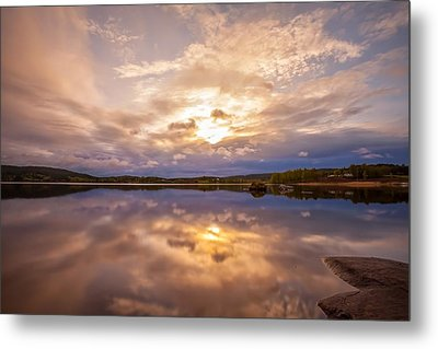 Mirrors Metal Print by Rose-Maries Pictures