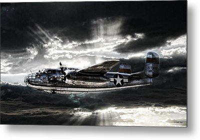 Miss Mitchell Metal Print by Peter Chilelli