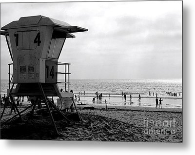 Mission Beach San Diego Metal Print by David Gardener