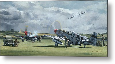 Mission From Debden Metal Print by Wade Meyers