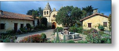 Mission San Carlos Borromeo De Carmelo Metal Print by Panoramic Images