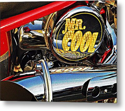 Mister Cool  Metal Print by Chris Berry