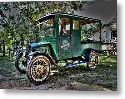 Model T Truck In Bon Secour Al Metal Print by Lynn Jordan