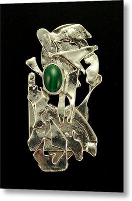Modern Art Metal Print by Laura Wilson