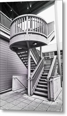 Modern Stairs Metal Print by Tom Gowanlock