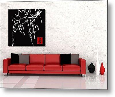 Modern Zen Design Metal Print by Andrea Kollo